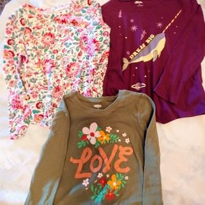 Girls size 5T Old Navy Tops